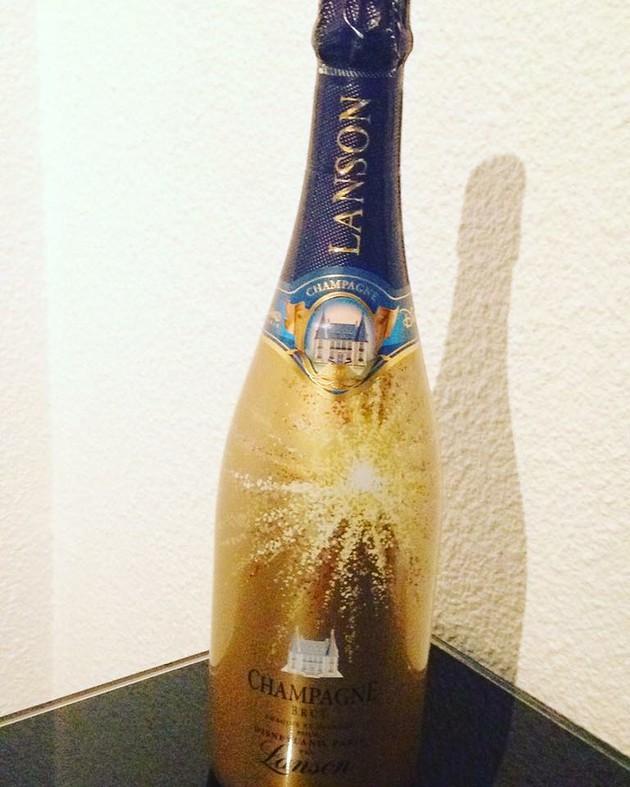 LansonとDisneyland Parisのコラボシャンパン♪【フランス】