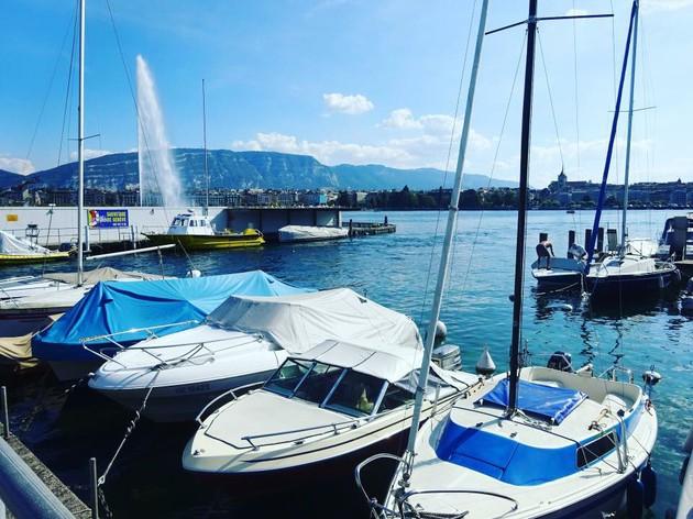 レマン湖を一望できる「La Terrasse」【スイス】