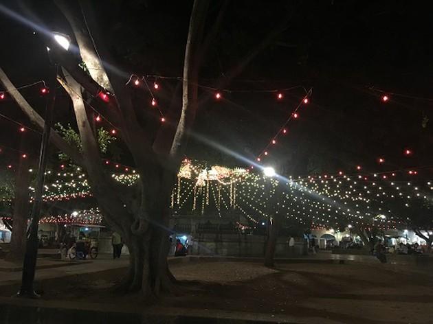 オアハカ市の中心にあるソカロは市民の憩いの場!【メキシコ・オアハカ】