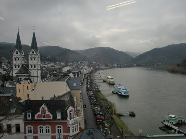 ライン河ののどかな風景が一望できる、ボッパルトミュージアム【ドイツ】